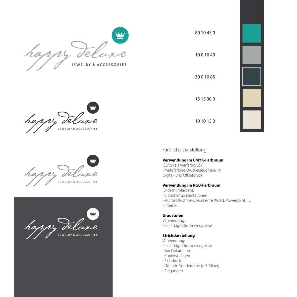 happy deluxe Logodesign 2