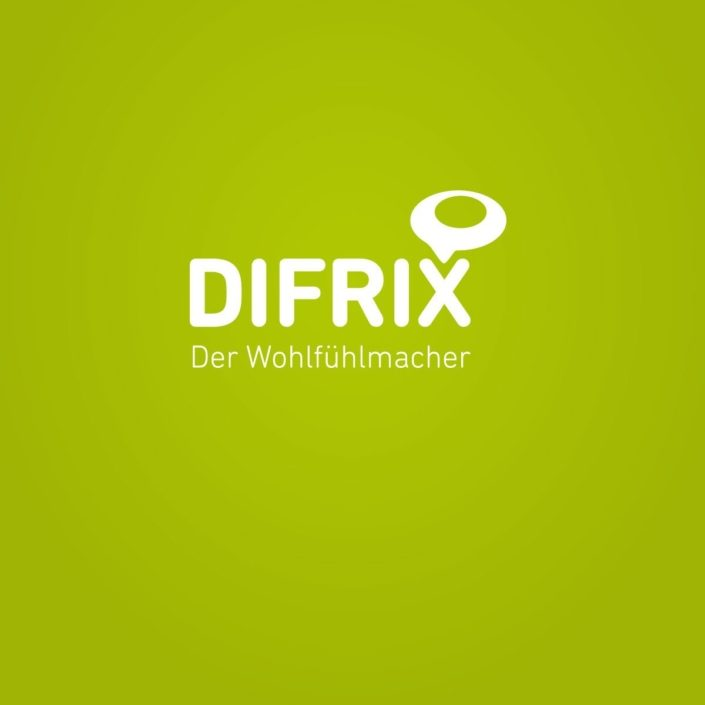 Werbeagentur Berlin DIFRIX Sitzsack - Corporate Design