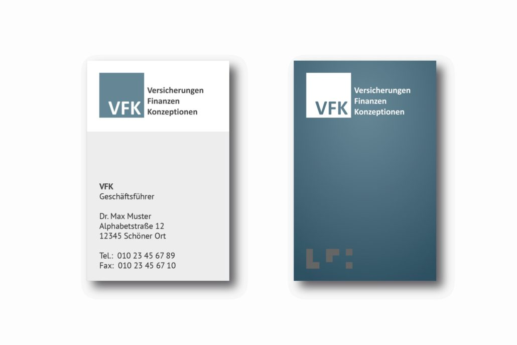 Werbeagentur VFK Business Cards
