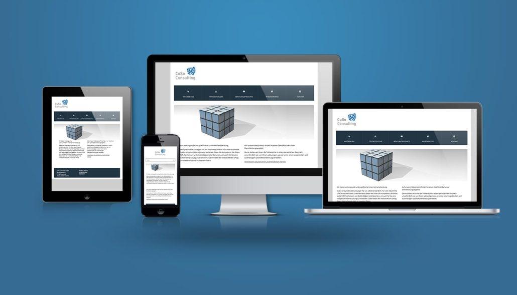 uSo Consulting Webdesign