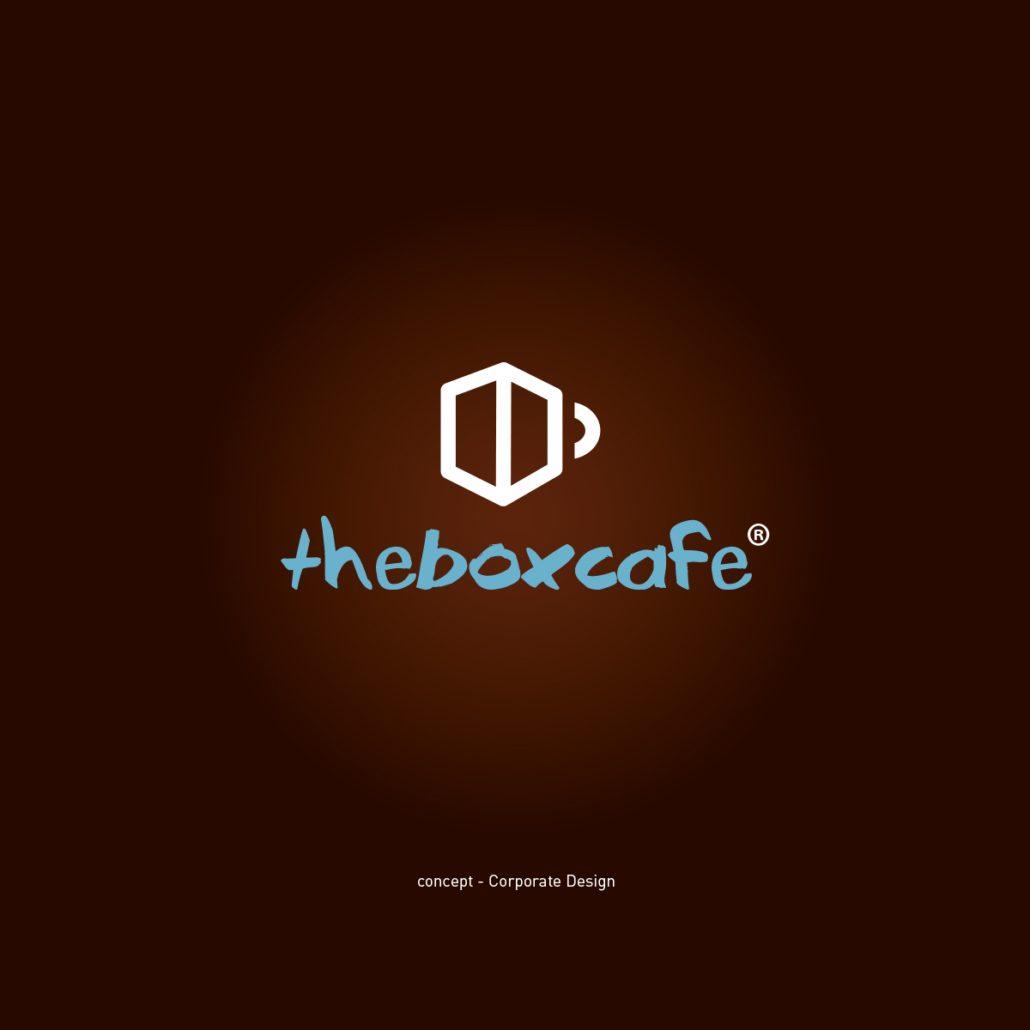 theboxcafe Logoentwicklung 2