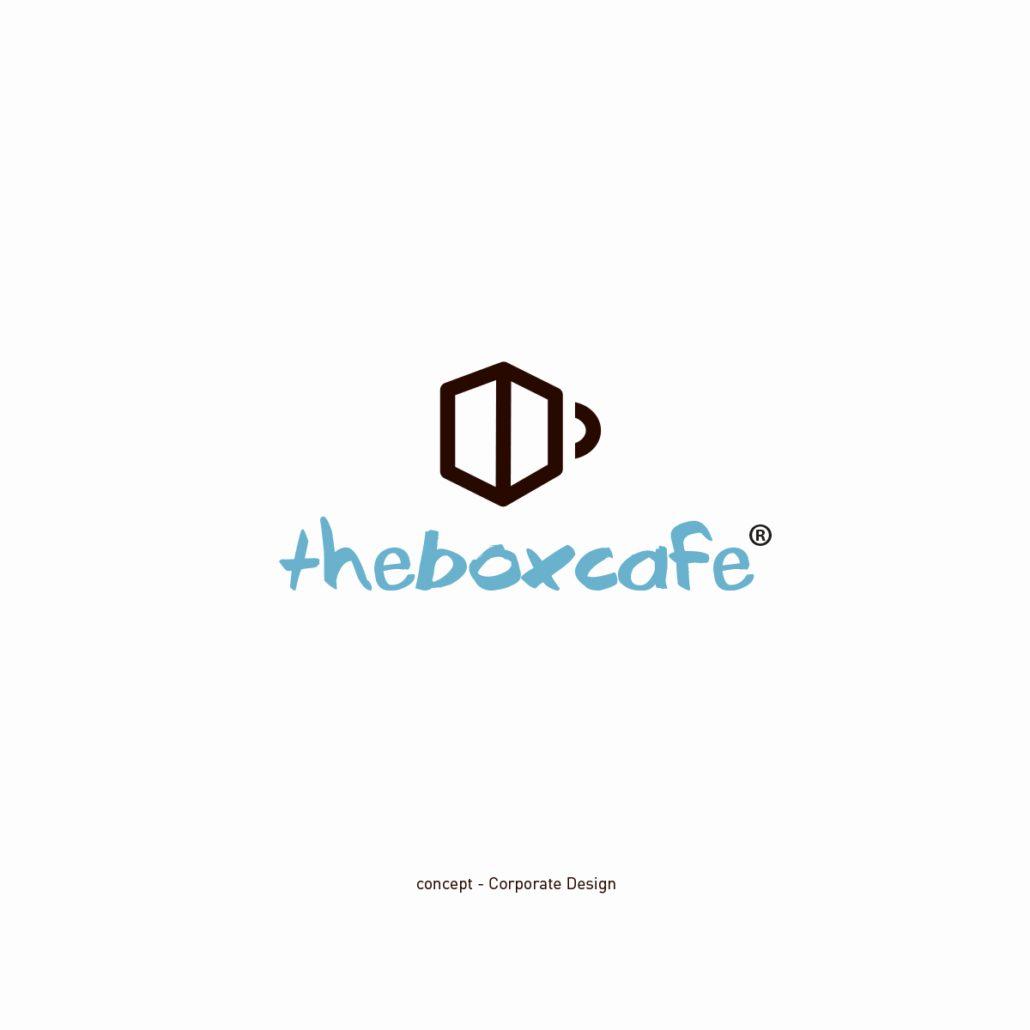 theboxcafe Logoentwicklung