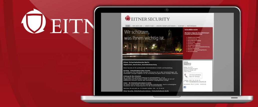 Werbeagentur Webdesign Eitner Security