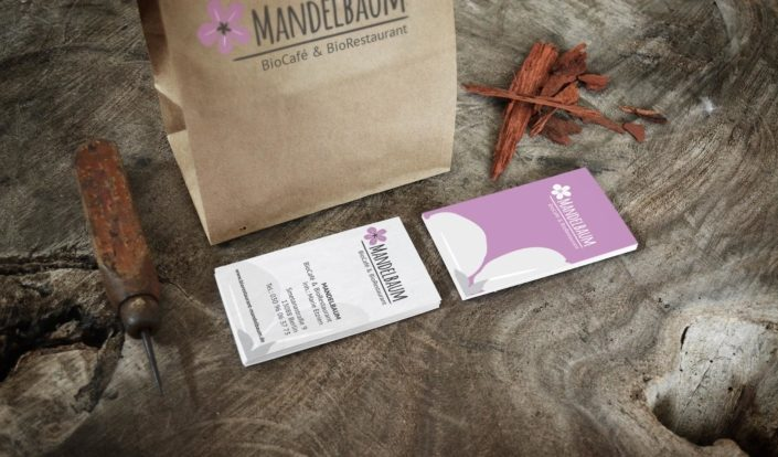 Printsachen-Bio Restaurant Mandelbaum