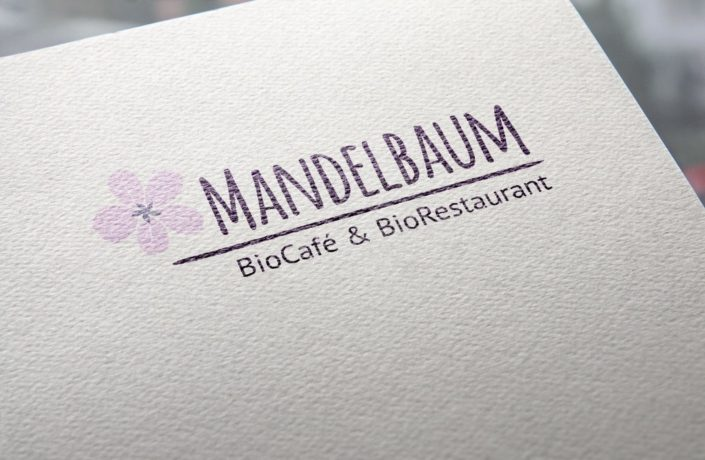 Logodesign-Bio Restaurant Mandelbaum
