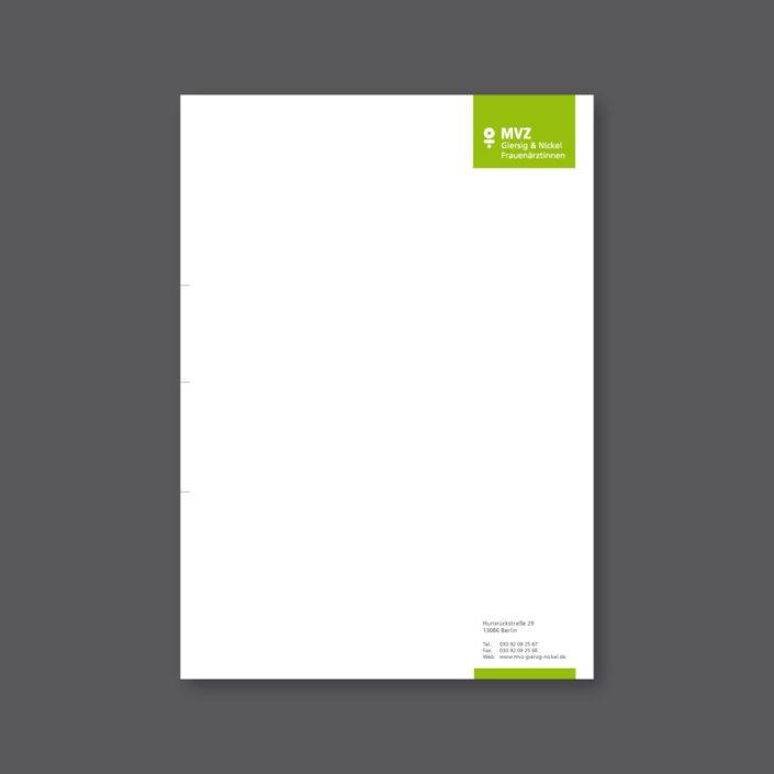 MVZ-Giersig-Nickel-Geschäftspapier