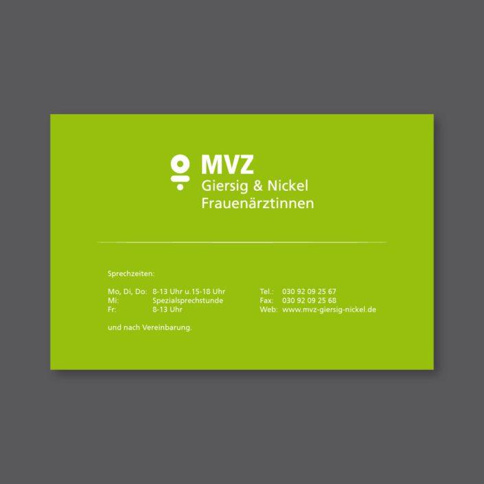 MVZ Giersig Nickel Praxisschild