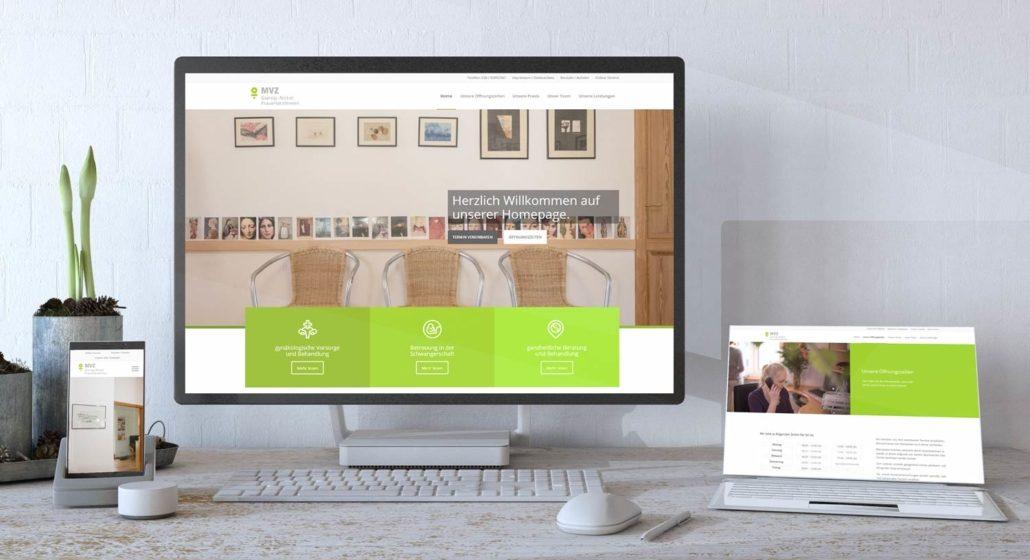 MVZ Giersig Nickel Webdesign