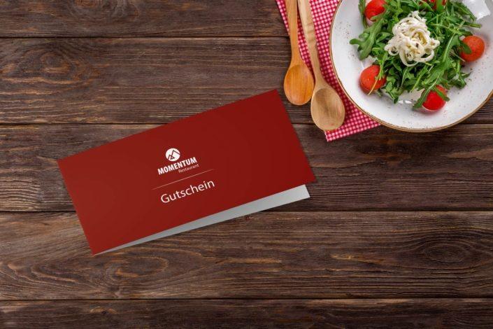 Restaurant-Momentum-Printsachen