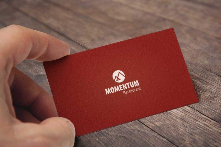 Restaurant-Momentum-Visitenkarten