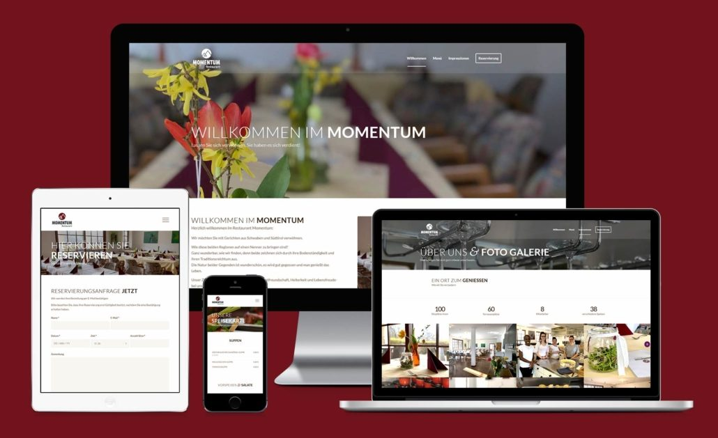 Restaurant-Momentum-Webdesign