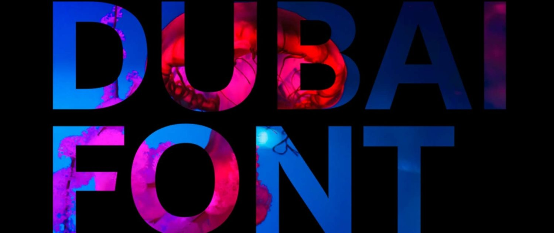 Dubai-Font