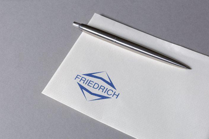 Werbeagentur Berlin Friedrich Aufzüge Logo Redesign