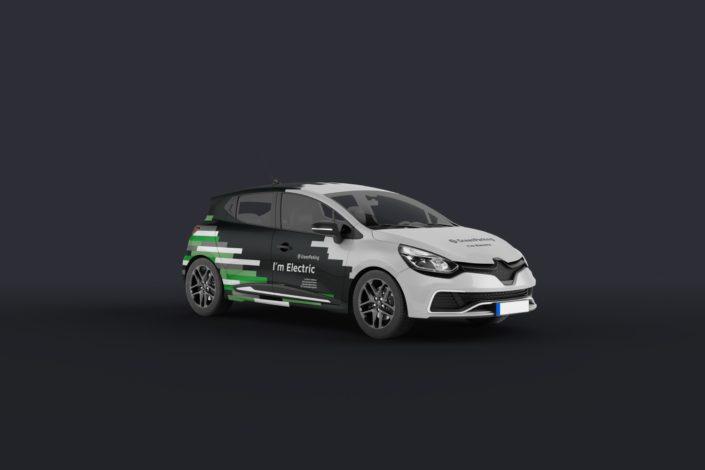 GreenParking Fahrzeugbeschriftung