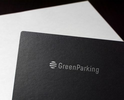 GreenParking Logoerstellung Corporate Design